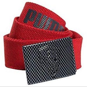 Puma Men's Scuderia Ferrari Replica Belt